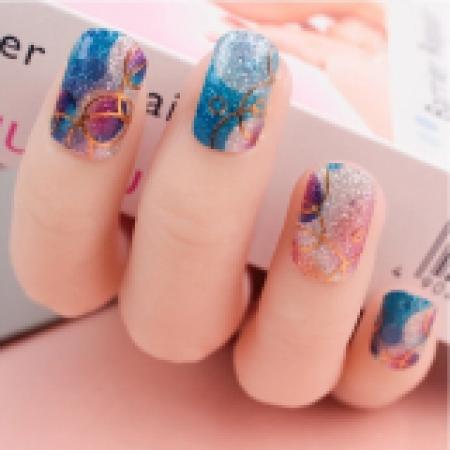 Sticker Bubble Bliss Sheer Sparkle