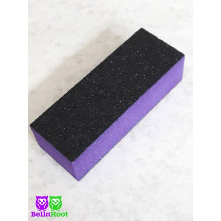 3 Sided Nail Buffer - Purple