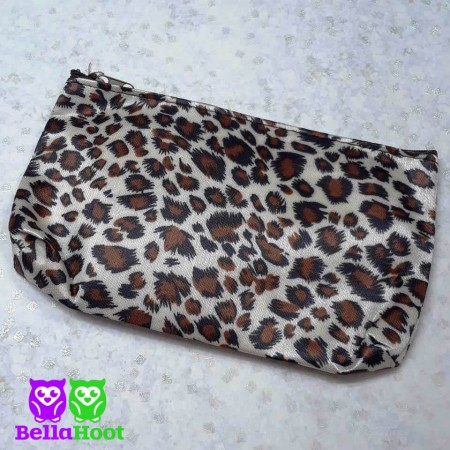 Cosmetic Bag - Leopard