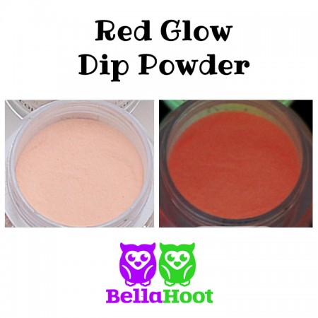 Dip Powder - Glow Red