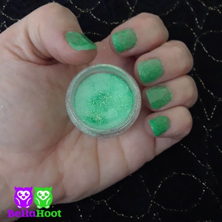 Dip Powder - Sparkle Shamrock