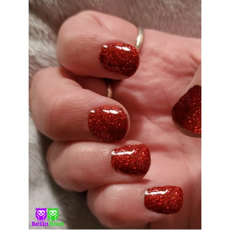 Dip Powder - Exclusive - Sparkle Red