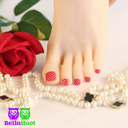 Mini Polka Dot Red