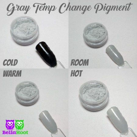Pigment - Temp Change - Gray