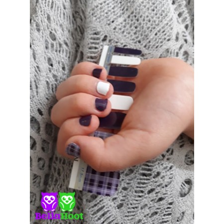 Mini Purple Plaid
