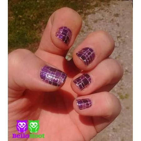 Sparkle Purple Alligator