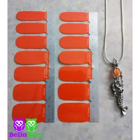 Vinyl Simply Orange - FREE MERMAID NECKLACE
