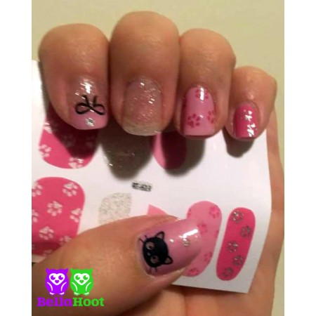 Sticker Kitty Cat Paws