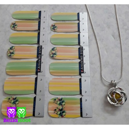 Vinyl Bright Bouquet - FREE Flower Neckalce