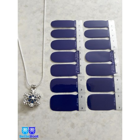 Vinyl Simply Royal Blue - FREE SNOWFLAKE NECKLACE