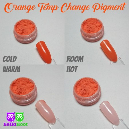 Pigment - Temp Change - Orange